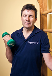 Praxisinhaber und Physiotherapeut Mario Stern