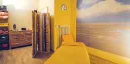 Wellness in unserem Massage-Raum