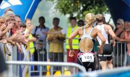 Sportlerbetreuung beim Triathlon