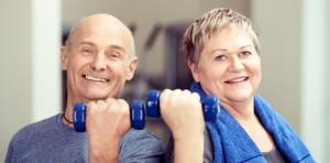 Hanteltraining hält fit